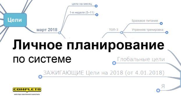 Личное планирование по системе