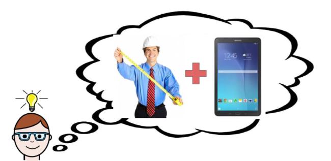 Решение: мобильное приложение!