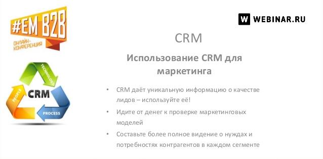CRM + Маркетинг